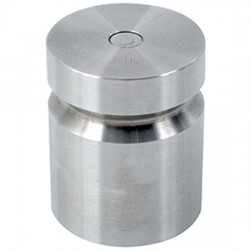 Troemner - 1205 - Troemner 1205 4 lb Class F Stainless Steel Test Weight with No Certificate, Cylindrical with Groove