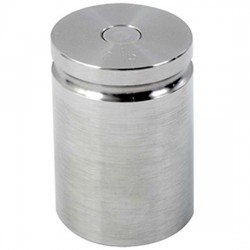Troemner - 1209 - Troemner 1209 2 lb Class F Stainless Steel Test Weight with No Certificate, Cylindrical with Groove