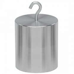 Troemner - 12006-ST - Troemner 12006-ST 10 lb Class F Stainless Steel Hook Top Weight with Trace Cert