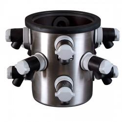 Labconco - 7522801 - Labconco FreeZone 7522801 Freeze Drying Chamber, 12 Ports, SS/PTFE-coated interior