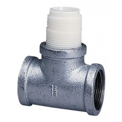 GF Piping Systems - CS4T007 - GF Signet CS4T007 Carbon Steel Tee 0.75