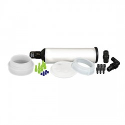 Cole-Parmer - EW-06062-15 - UN/DOT Waste System Cap w/ Filter, 70 mm, 4x1/16 & 1x1/4OD, 1 stepped barb