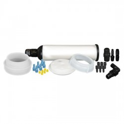 Cole-Parmer - EW-06062-22 - UN/DOT Waste System Cap w/ Filter, 60 L adapter, 6x1/8OD, 1 stepped barb