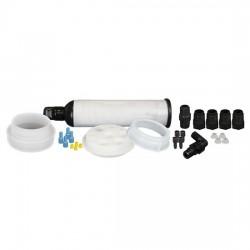 Cole-Parmer - EW-06062-31 - UN/DOT Waste System Cap w/ Filter, 60 L adapter, 4 x 1/16 & 4 x 1/4 OD tubing