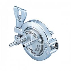 Advantec MFS - 357200 - Advantec 357200 Sanitary Stainless Steel In-Line Filter Holder, for 47 mm membranes