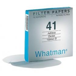 Whatman / GE Healthcare - 1441-042 - Whatman 1441-042 41 Ashless Quantitative Filter Paper, 20-25um, 4.25cm; 100/Box