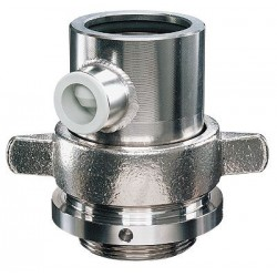 FLUX - 001.14.253, 001.14.331 - Flux FG-SS 50MM Drum Pump Fume Gland, Stainless Steel; 50 mm