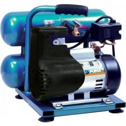 PUMA Air - LA5721 - Puma LA5721 115-Volt 1-HP 2-Gallon 3, 450-Rpm Oil-Less Twin Stack Air Compressor