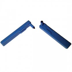 Graphic Controls - 32016037 - Graphic Controls 1008053 Replacement Pen for Flatbed Chart Recorder, blue, channel 1/short nib, 6/pk