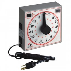 DimcoGray / GraLab - 7-172-160R - Dimco-Gray 172 Analog interval timer, 15 minutes, 120 VAC
