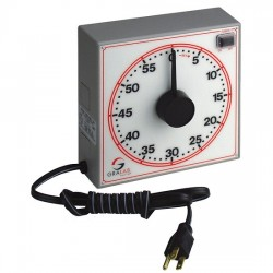 DimcoGray / GraLab - 7-254-160R - Dimco-Gray 254 Large Dial Timer, 60 minute; 115 VAC