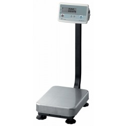 AND Weighing - FG-60KAM - Bench Scale Fg-k 60 Kg 0.01 Kg With Column +/- 0.02 Kg Aandd Stainless Steel Ac-adaptr 120 Volt, Ea