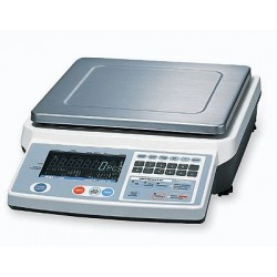AND Weighing - FC-5000SI - A&D Weighing FC-5000Si Hi-Res Counting Scale 5kg x 0.2g / 10lb x 0.0005Lb 500 Memory Sets
