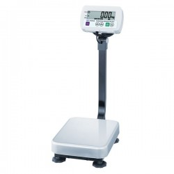 AND Weighing - SE-60KAM - A&D Weighing SE-60KAM Washdown Industrial Scale, 130lb x 0.02Lb/60kg x 0.01kg; 11.75