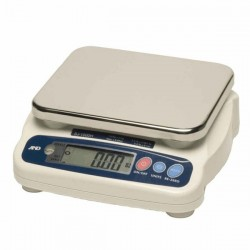 AND Weighing - SJ-12KHS - A&D Weighing SJ-12KHS Digital Portion Scale, 12kg x 0.005kg