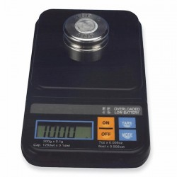 AND Weighing - PV-200 - A&D Weighing PV-200 Handheld Balance, 200g x 0.1g -+/- 0.2g