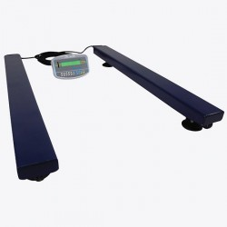 Adam Equipment - AELP 1000 [GKA]-115V - Adam Equipment AELP 1000 Pallet Beam Scale with GKa Indicator, 1000 kg x 0.2 kg, 115 V