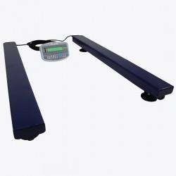 Adam Equipment - AELP 2000 [GKA]-115V - Adam Equipment AELP 2000 Pallet Beam Scale with GKa Indicator, 2000 kg x 0.5 kg, 115 V