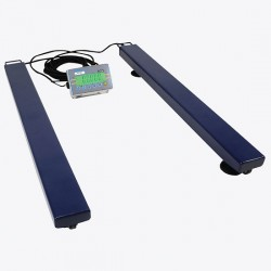Adam Equipment - AELP 1000 [AE402]-220V - Adam Equipment AELP 1000 Pallet Beam Scale with AE402 Indicator, 1000 kg x 0.2 kg, 220 V