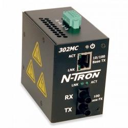 Advantech - 302MC-ST - N-Tron 302MC-ST Media Converter (Multimode St Style Connector)