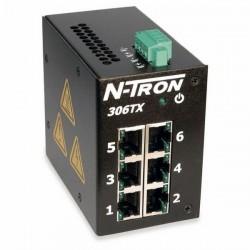 Advantech - 306TX - N-Tron 306TX 6 Port 10/100 Base Tx Industrial Ethernet Switch Din Rail