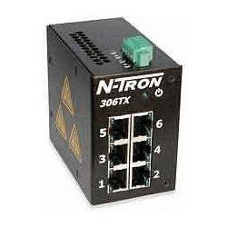 Advantech - 308TX - N-Tron 308TX Ethrnet Swtch8port 10/100BaseTX Din-Rail