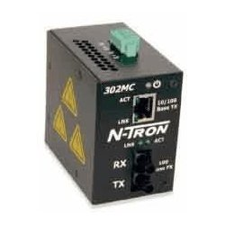 Advantech - 305FX-ST - N-Tron 305FX-ST Ethrnet Swtch5port 4 10/100BaseTX 1 100 Basefx Din-Rail