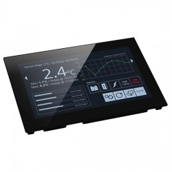 Lascar Electronics - SGD 70-A - Capacitive Touch Display, PanelPilotACE Series, 7 TFT, 1024 x 600 Pixels, Serial, 5 to 30 Vdc