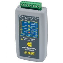 AEMC Instruments - 2126.29 - AEMC L404 4-Channel Event Datalogger