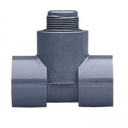 GF Piping Systems - MPV8T010F - GF Signet PV8T010F SCH 80 PVC Tee for 1 PVC Pipe