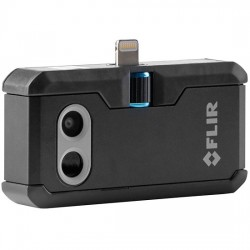 FLIR Systems - ONE PRO FOR IOS - Flir One Pro Thermal Imaging Phone Accessory for iOS with Lightning Connector, 160 x 120 resolution