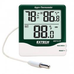 Extech Instruments - 445713-TP - Extech 445713-TP Big Digit Thermohygrometer with Detachable Remote Probe