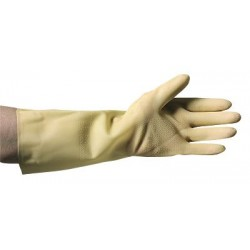 MAPA - 517318 - MAPA 517310 Unpigmented Trionic Cleanroom Acid Gloves, 14 in., Size 8