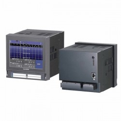 M-System - 73VR2102-E-M2 - M-System 73VR2102-E-M2 Paperless Recorder, 2-Point/DC mA/DCV/TCs/RTD; 85-250VAC
