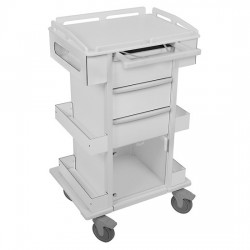 TrippNT - 51504 - TrippNT Element 05 Tall All Purpose Laboratory Cart