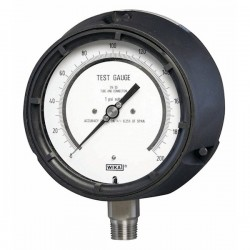 Wika Instruments - 4334818 - Wika 332.34 4.5 High-precision Test Gauge ~ 0 To 160 Psi, 1/2 NPT(m)