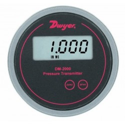 Dwyer Instruments - DM-2001-LCD - Dwyer DM-2002-LCD Differential Pressure Transmitter with Digital Display 0-100 WC