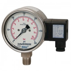 Wika Instruments - 50592505 - Wika 50592505 Pressure Gauge 0 to 30 psi; 4 gauge with 1/2 NPT(M) Connection