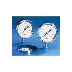 Ashcroft - 30-1084-S-02L-1000# - Ashcroft 10843.0 3 Pocket Test Gauge 1/4 NPT Lower; 0 to 1000 psi