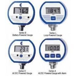 Cecomp / API - DPG1000B2000PSIG-5 - Cecomp DPG1000B2000PSIG-5 0-2000 Psig Battery Powered Gauge
