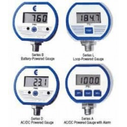 Cecomp / API - F16ADA3000PSIG - Cecomp DPG1000ADA3000PSIG-1N 1N Ac/Dc 2ALRM.Dgtl. Pressure gauge