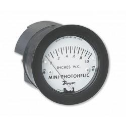 Dwyer Instruments - MP-001 - Dwyer MP-001 0-1.0 Inh20 Mini-Photoheli Diff Press Gauge/Switch