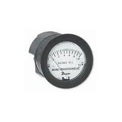 Dwyer Instruments - MP-005 - Dwyer MP-005 0-5.0 Inh20 Mini Photoheli Diff Press Gauge/Switch