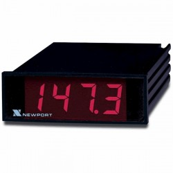 Newport Electronics - 205-JF1,R,C0 - Newport 205 Panel Meter Type J-346 To 1400 F 115V