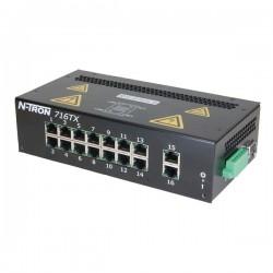 Advantech - 716TX - N-Tron 716TX Ethernet Switch, 16 port 10/100BaseTX Fully Managed