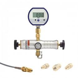 Ralston Instruments - DP0V-30PSIG-M - Ralston Instruments DP0V-30PSIG-M Pneumatic Hand Pump, 125 psi, 1/4NPT(F), Analog