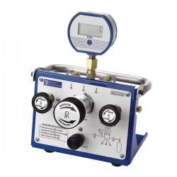Ralston Instruments - QTVC-1KPSIG-M - Ralston Instruments QTVC-1KPSIG-M Pressure Volume Controller w/Analog Gauge; 1/4 NPTF