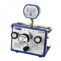 Ralston Instruments - QTVC-1KPSIG-D - Ralston Instruments QTVC-1KPSIG-D Pressure Volume Controller w/Digital Gauge; 1/4 NPTF