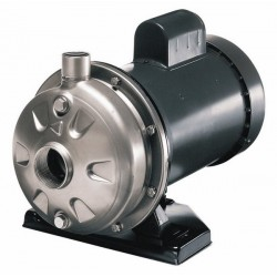 Cole-Parmer - EW-70725-00 - 304 SS Mechanically Coupled Pump, 40 GPM, 115/230 VAC; Hor.