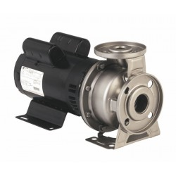 EBARA - A3U-50-125-12575T3C - Ebara Mechanically Coupled 304 SS Pump, High-Head, 380 GPM, 7-1/2 Hp, 208-230/460 VAC